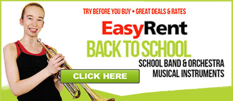 Rent your musical instrument for the school year
