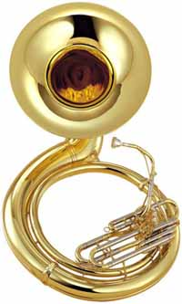 Yamaha YSH-411WC Marching Sousaphone Outfit (YSH-411WC)