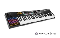 M-Audio Axiom AIR Mini 32 Premium 32-Key USB MIDI Keyboard & Drum Pad Controller (AIRMINI32)