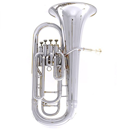 B490RS  HOLTON Euphonium Outfit 4 VLV SIL (B490RS)