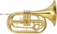 Yamaha YHR-302M Marching French Horn Outfit (YHR-302M)