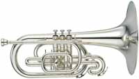 Yamaha YMP-204M Marching Mellophone Outfit (YMP-204M)